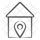 House Location Home Location Gps Icon
