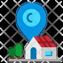 Address Pin Location Icon
