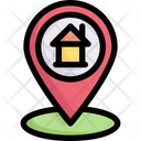 Online Shopping Address Location Pin Icon