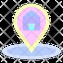 House Address Pin Icon