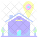 Home Location Placeholder Pin Icon