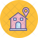 Home Location Map Pin Pin Icon
