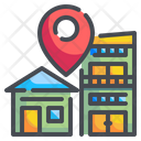 Home Location Home Location Icon