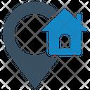 Home Location Address Location Icon