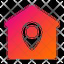 Home Location Location Real Estate Location Icon