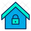 Secure Home Secure House Protected Home Icon