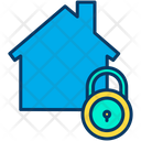 Home Lock Secure Home Secure House Icon
