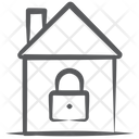Home Lock House Lock Home Security Icon
