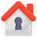 Home Lock Safe Home Home Safety Icon