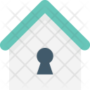 Home Keyhole Real Icon