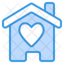 Home Love Heart Home Icon