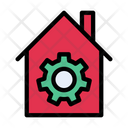 Home Management Home Setting Icon