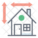 Home Measurement House Measurement Property Measurement Icon