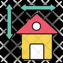 Home Measurement Icon