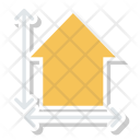 Home Blueprint Architecture Icon