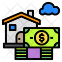 Money House Building Icon
