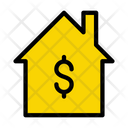 Home Money Property Money Rent Icon