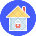Home Monitoring Home Security Home Surveillance Icon
