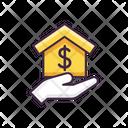 Home Mortgage Icon