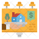 House Advertisement Billboard Icon