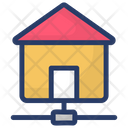 Home Network Local Area Network Dsl Icon