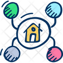 Home Network Icon