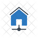 House Sharing Connection Icon