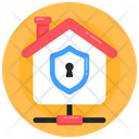 Shared Home Home Network House Network Icon