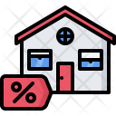 Home on Discount Icon