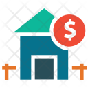Home House Dollar Icon