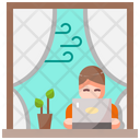 Home User Working Icon