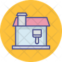 Home Paint Paint House Icon