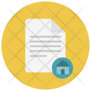 Home Paper Notes Icon