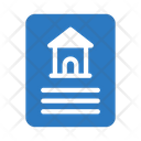 Document House Building Icon