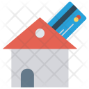 Payment House Home Icon