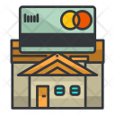 Credit Card House Icon