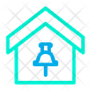 Home Location Home House Icon