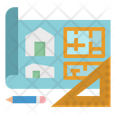 Plan Floor Design Icon