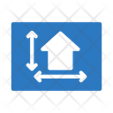 Blueprint House Building Icon