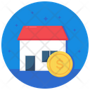 Home Price Real Estate House Price Icon
