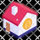 Mansion Price Bungalow Price Home Price Icon
