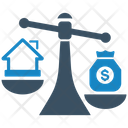 Home Price Investment Loan Icon