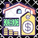 Price Home Building Icon