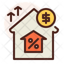 Home Price Increase Icon