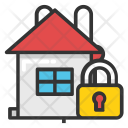 Home Protection Locked Icon