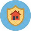 Home Protection Shield Icon