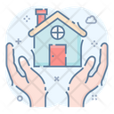Home Protection Estate Protection Building Protection Icon