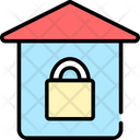 Stay At Home Lockdown Covid 19 Icon
