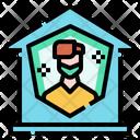 Protection Quarantine Stay Icon