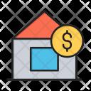 Home Rent Dollar Icon